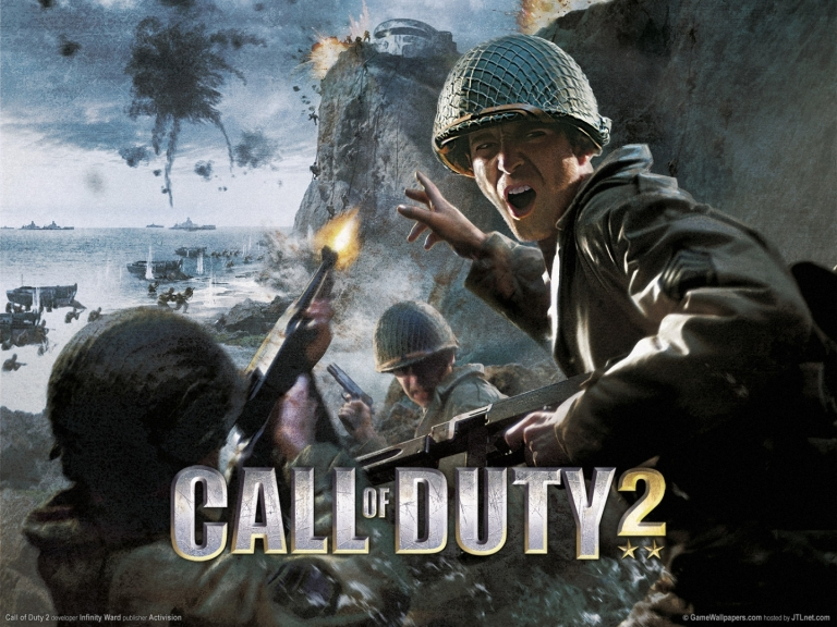 CoD2 cover
