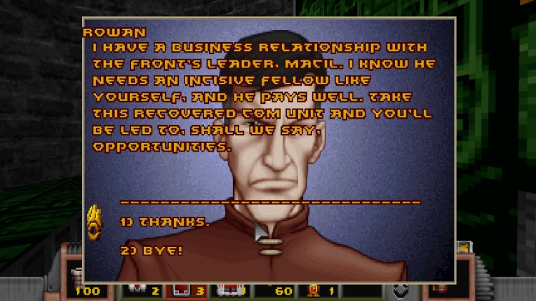An important character at the start of the game. He leads you to the first dungeon.