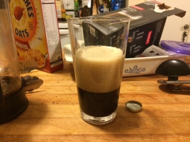 Two part pour!
