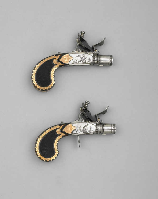 pocket flintlocks