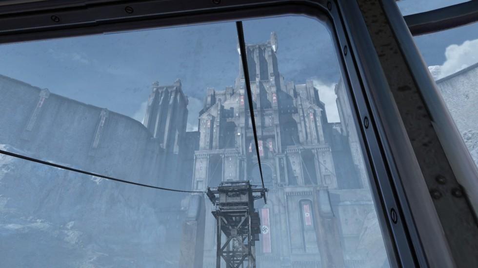 Castle Wolfenstein is both majestic and grim.