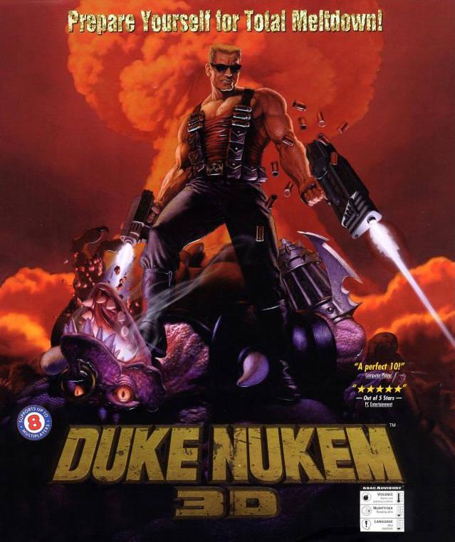 Duke Nukem 3D box