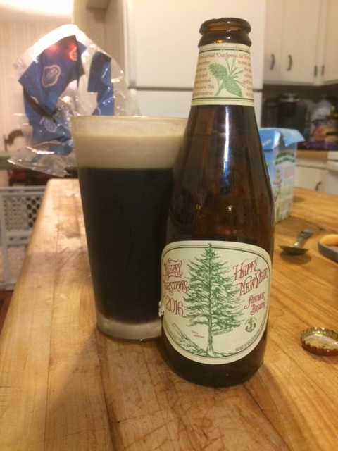 Anchor Steam Christmas Ale.Anchor Christmas Ale A Must Drink Holiday Beer