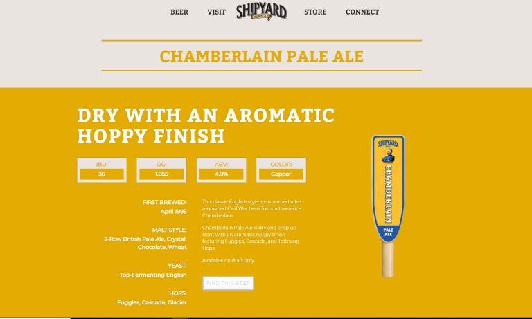 Chamberlain Pale Ale_Shipyard