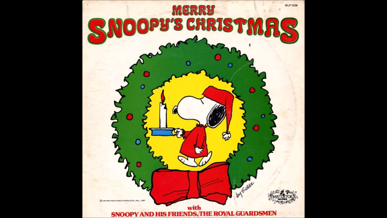 Snoopys Christmas.What I M Listening To 12 20 2018 Snoopy S Christmas By The